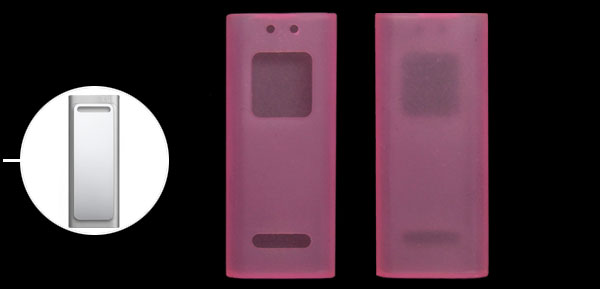 Silicone Silicon Skin Case for Apple iPod Shuffle 3G