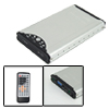 "2.5"" USB HDD SATA Enclosure AV Multimedia Player w/ Remote Contro..."