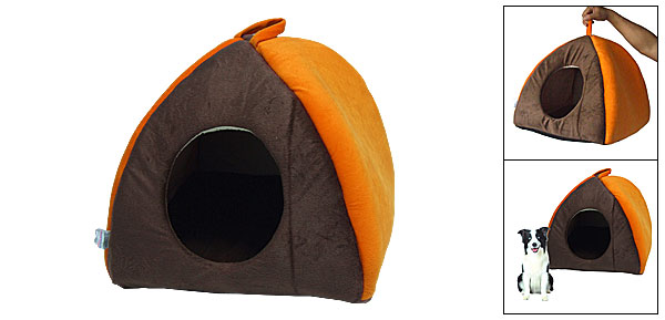 Collapsible Pet Cat Dog House Bed Supplies Provides Stylish Shelter