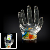 Crystal Clear Hand Holder Stand for Cellphone PDA