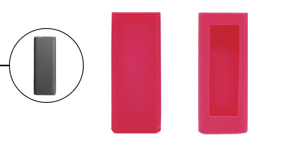 Silicone Soft Protective Shell Cover for iPod Shuffle 3G