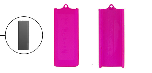 Plastic Solid Shell Case Protector for iPod Shuffle 3G
