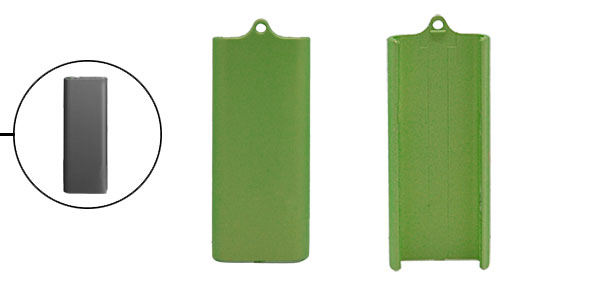 Green Plastic Protective Shell Cover for iPod Shuffle 3G