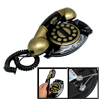 Bronze Color Home Office Table Wired Corded Telephone