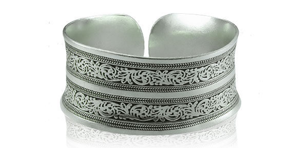 Chinese Miao Tribal Silver Bracelet