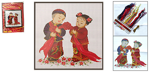 Chinese Wedding Counted Cross Stitch Cross-Stitch Kit
