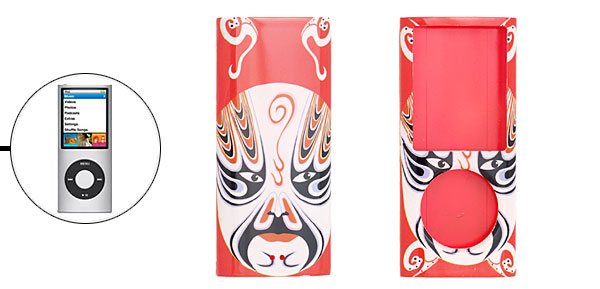 Beijing Opera Mask Face Plastic Case Cover for iPod Nano Chromatic 4G 4th Gen