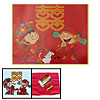 Romantic Chinese Style Wedding Counted Cross Stitch Kit