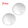 X Autohaux 2 Pcs Round Stick-On Convex Rearview Blind Spot Mirror...