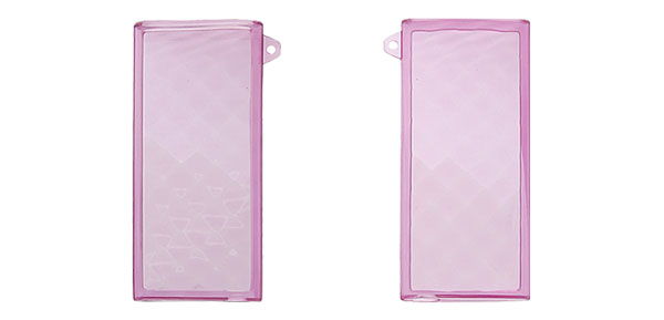 Clear Purple Soft Plastic Skin Cover for iPod Nano Chromatic 4G