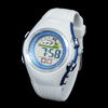 White Band Student's PASNEW Round Shell Alarm Sports Watch