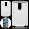 White Hard Plastic Case Cover for Blackberry Bold 9000