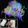 Multicolor LED Flashing Lamp Light Lamp for Party Christmas 10m