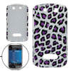 Leopard Pattern Leather Surface Back Cover Shell for Blackberry 9...