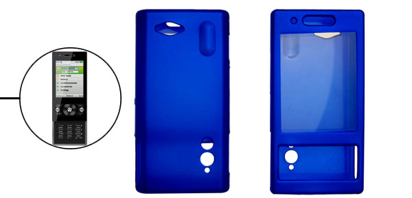 Screen Guard Design Rubberized Plastic Case Cover for G705