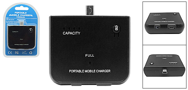 Emergency Travel Charger Pack for Blackberry 8310 Dopod P3400