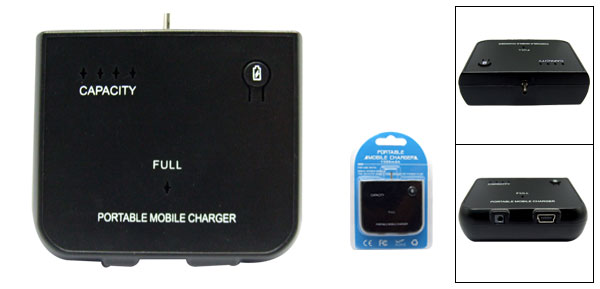 Emergency Travel Charger Pack DC 2.0 for Nokia 5300 N95
