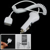 White Portable Power Adapter Car Charger for iPhone 3G 2.2 iPod