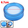Office Financial Officer Round Sponge Finger Wet Money Casher Blue 6.7 x 2.5cm