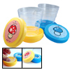 Pocket Travel Plastic Folding Collapsible Water Cup Set