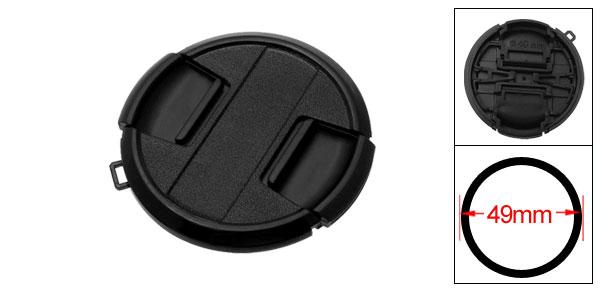 49mm Center Pinch Lens Cap Cover for Canon SLR DSLR Camera