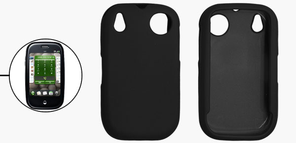 Black Hard Plastic Case Protector for Sprint Palm Pre