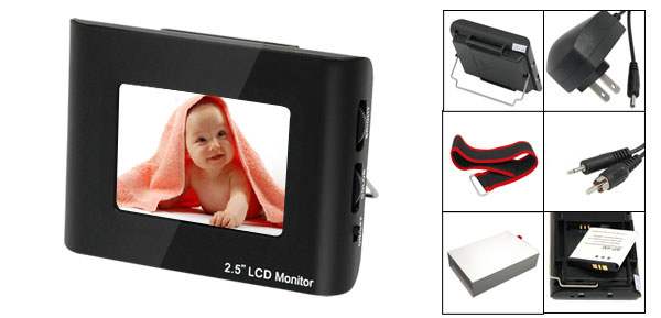 Mini LCD Color Monitor for CCTV Camera DVD VCR VCD