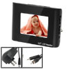 US Plug AC100-240V Mini LCD Color Monitor for CCTV Camera DVD VCR VCD