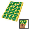 15 Sheets Lead Free Packing RoHS Label Sticker Paper