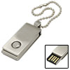 4GB Swivel Style Flash Memory Storage Drive USB U Disk with Keychain
