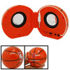 3.5mm Folding Basketball Sound Box Speaker for MP3 MP4
