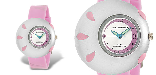 Stylish Pink Pasnew Sports Wrist Watch for Students
