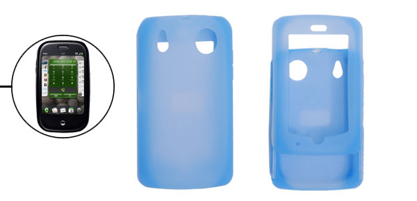 Silicone Skin Case Cover for Sprint Palm Pre Blue