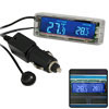 Car Auto Indoor Outdoor Temperature Digital Thermometer