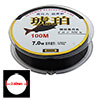 0.45mm Black Monofilament Cable Spool 100m Fishing Line
