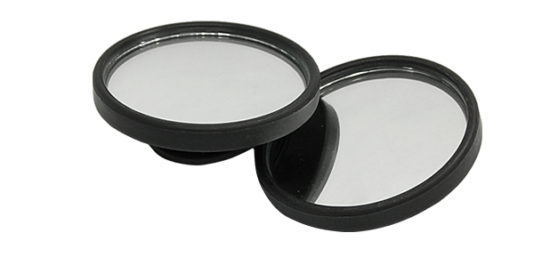 2pcs Universal Car Auto Rear View Round Rearview Blind Spot Convex Mirror 48mm