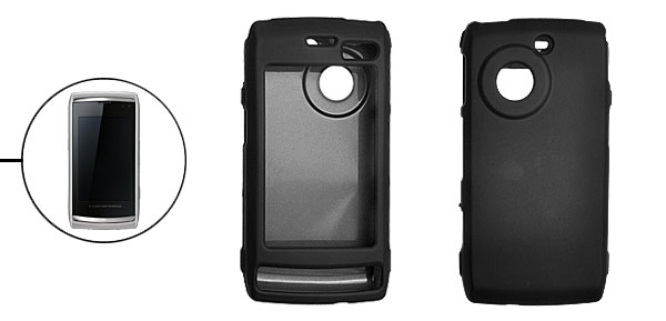 Black Plastic Protective Shield Guard for LG GC900