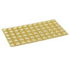 Adhesive Sticker Mobile Cell Phone PDA Paste Golden Sticker