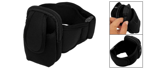 Sport Armband Case Holder Black for MP3 Cell Mobile Phone