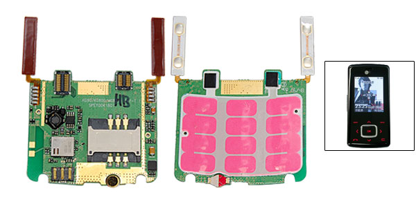 Keypad Keyboard Membrane Board Flex Cable for LG KG800