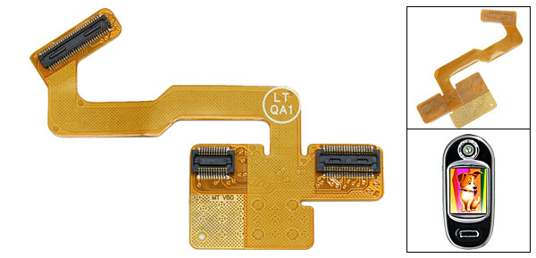 Replacement Flex Flat Cable Ribbon for Motorola V80