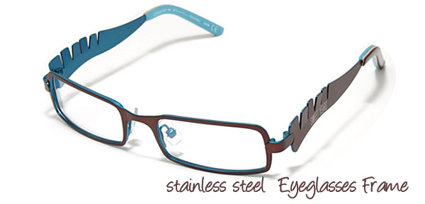 Full Rim Children's Stainless Steel Optical Eyeglasses Frame