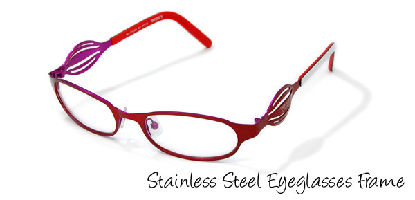 Women's Full Rim Optical Eyewear Eyeglasses Frame Red