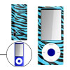 Zebra Print Plastic Case Cover for iPod Nano 5th Gen 5G