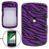 Zebra Style Hard Plastic Case Cover for Blackberry 9530