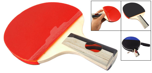Recreational Table Tennis Racket Ping Pong Paddle Penhold Grip