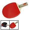 Recreational Black Red Table Tennis Racket Ping Pong Penhold Padd...