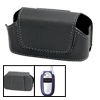Magnetic Fasten Faux Leather Case Holder for Motorola V500