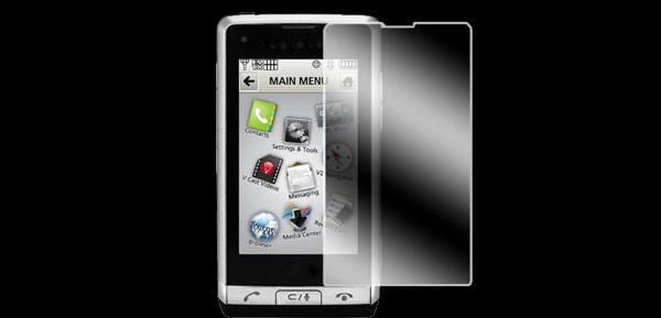 Film Privacy Screen Guard Protector for LG Dare VX9700