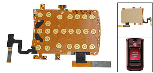 Keypad Keyboard Flex Ribbon Cable for Motorola RAZR2 V9